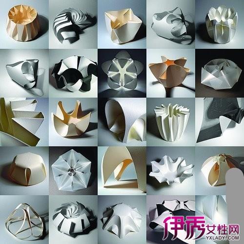 单页折纸布置店面图图片