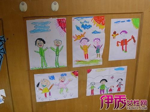 幼儿园重阳节绘画