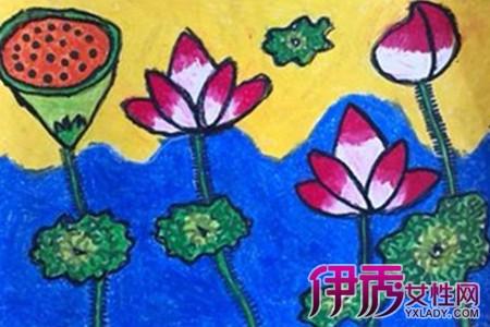 幼儿园绘画作品图片
