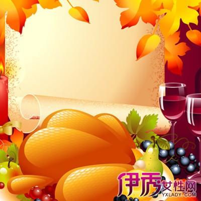 秋天果实丰收的绘画