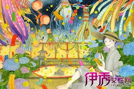 【日本手绘小清新插画】【图】超级好看的日本手绘小