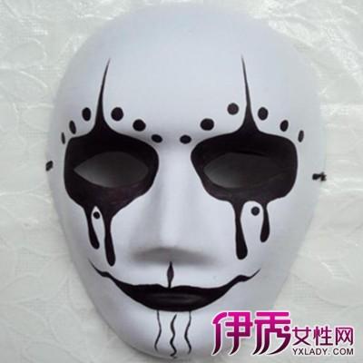 【图】欣赏万圣节手绘面具图片