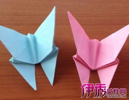 蝴蝶折纸大全图解图片