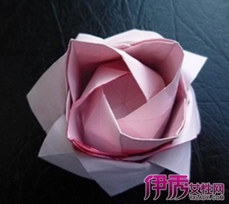 【图】简单的折纸大全图解曝光 13个简单步骤教会你折玫瑰-简单的折图片