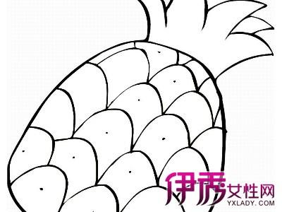 【水果卡通简笔画】【图】水果卡通简笔画教程