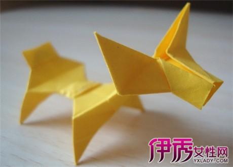 折纸的小动物,只要经过简单的几步制作,可以轻松的获得一个很可爱同时