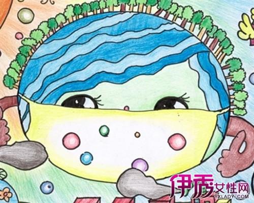 【小学生环保画】【图】小学生环保画作品展示图片