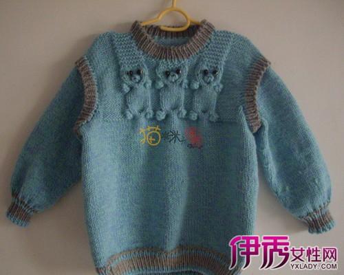 男宝宝毛衣编织方法图解 两款宝宝毛衣编织款式