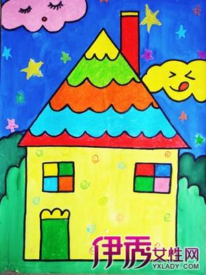 【图】儿童用几何形状画画图片展示 介绍绘画对孩子的好处