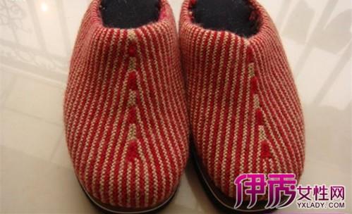 【图】大人毛线鞋编织图解