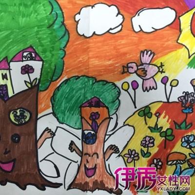 小学二年级绘画故事
