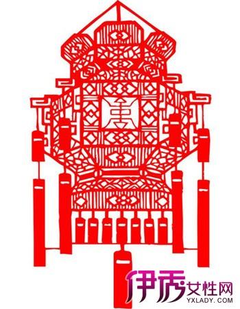【图】剪纸灯笼图片 中国传统剪纸灯笼制作步骤-剪纸灯笼图片