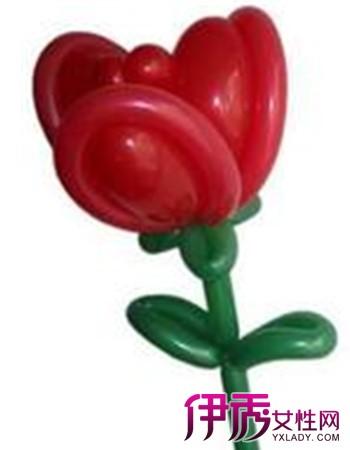 【图】气球玫瑰花教程图解 三大