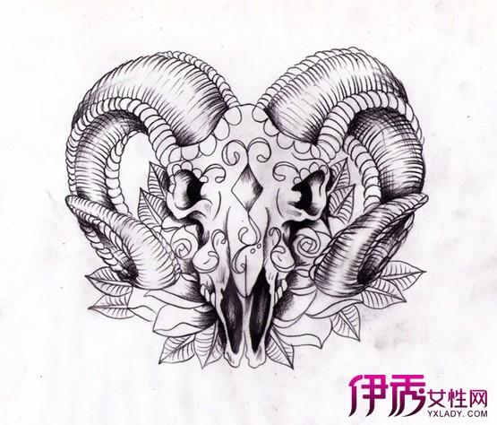 【图】简单线条纹身手稿图片展示 纹身去除难因此慎重去纹身