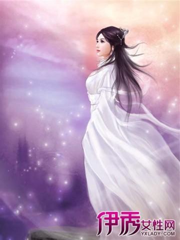 【图】手绘古装白衣仙女图片大全