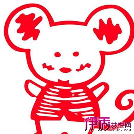 儿童剪纸图案大全动物