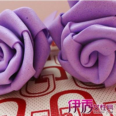 【图】海绵纸折玫瑰花图解 六大材料为你折纸增光彩-海绵纸折玫瑰花