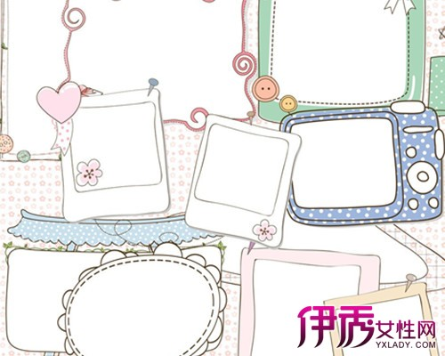 【图】小清新手抄报花边图片欣赏 手抄报的构思及注意事项介绍