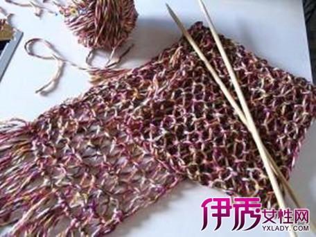 【毛线围巾编织花样图解】【图】毛线围巾编织花样