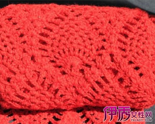 【图】菠萝花围巾的织法是怎样?