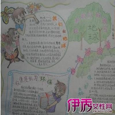 【图】环保图片手绘图