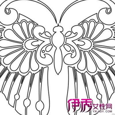 【图】蝴蝶风筝简笔画大全图片欣赏 简单线条下的美丽世界