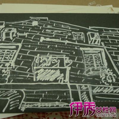 【图】黑卡手绘好看的图片赏析 揭秘马克笔作画的6个步骤