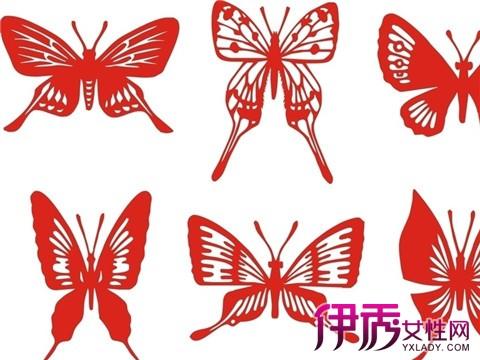 简单蝴蝶剪纸