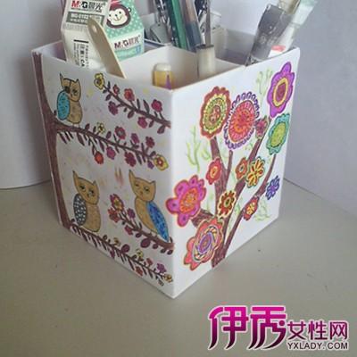 【图】折纸笔筒折法 介绍其的制作步骤-折纸笔筒图片
