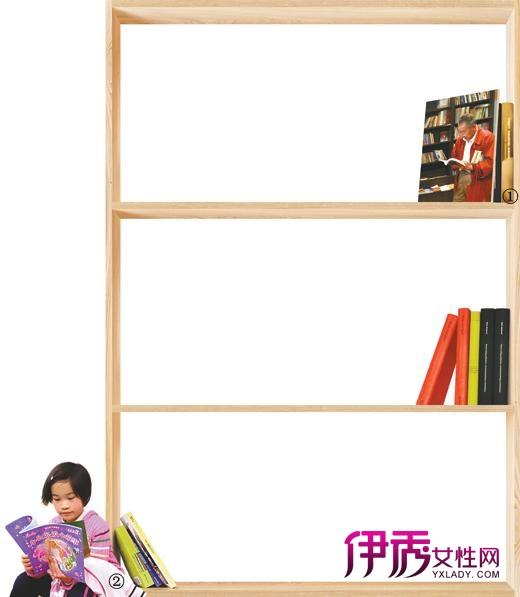 书店手绘海报边框