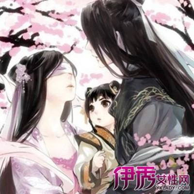 【图】古风手绘美男侧脸美图观赏 盘点中国古代四大美男
