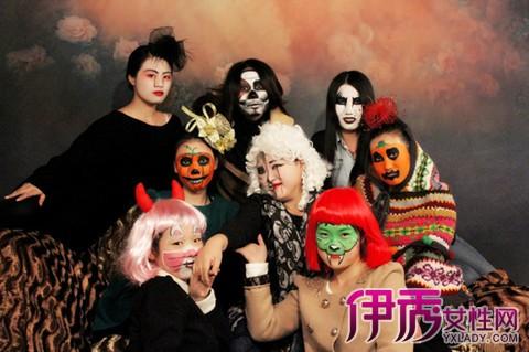 【图】万圣节脸部彩绘图片展示 向你介绍万圣节的5种怪物