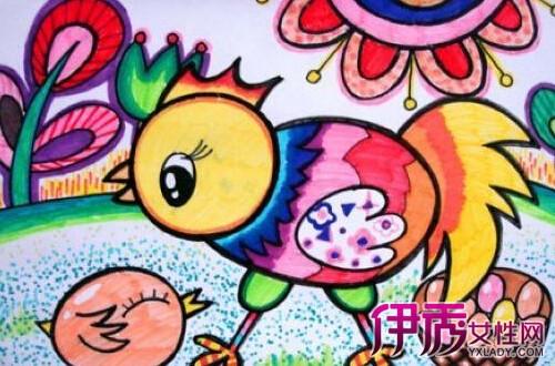【图】幼儿小班涂色简笔画 绘出孩子们心中的美好天地