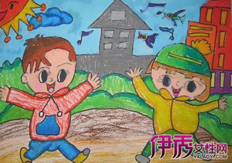 【图】暑假主题儿童画展示 儿童创作彰显个性