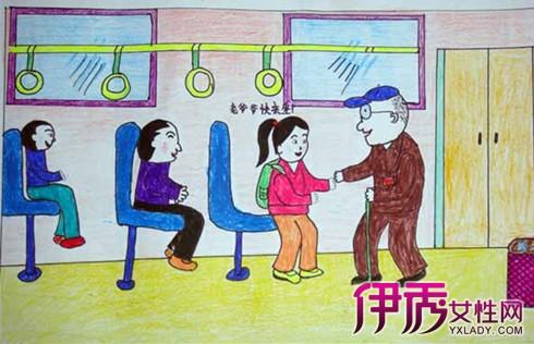 【圖】文明禮儀兒童畫欣賞 如何教育孩子懂文明識禮儀