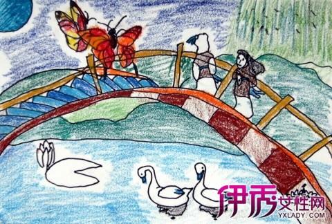 【图】欣赏儿童中秋节图画作品 了解中秋风俗和起源