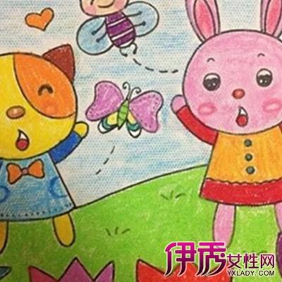 【图】幼儿图画作品展示 几个方法让孩子轻松学会画画