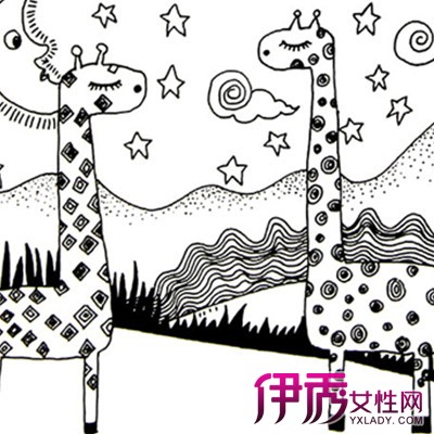 【图】漂亮简单儿童线描画的魅力 让孩子拥有无尽的想象力