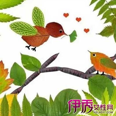 【图】儿童手工树叶粘贴画步骤教程 动手实践提高儿童智商