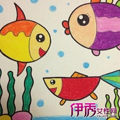 【图】幼儿园中班绘画作品欣赏 学画画六大好处告诉你