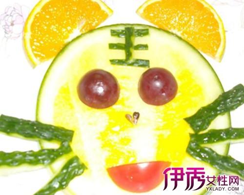 【图】制作儿童简单水果拼盘 提高孩子的动手能力-儿童简单水果拼盘