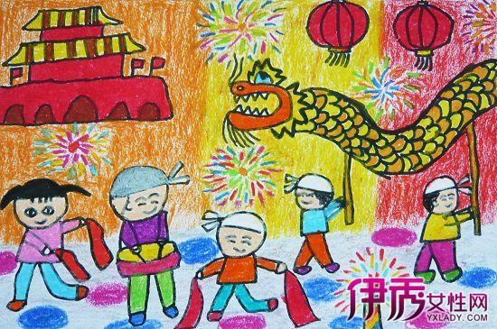 幼儿画中秋节简笔画