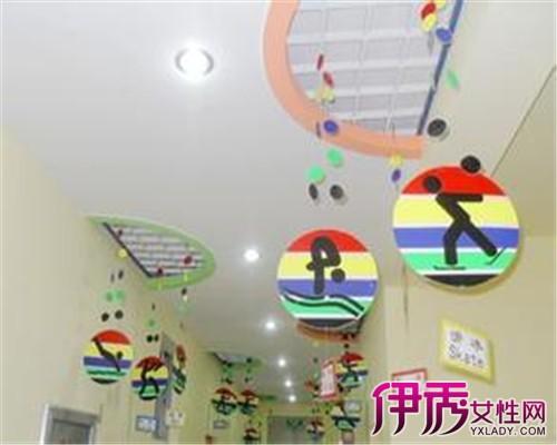 【图】幼儿园创意走廊吊饰 开拓幼儿的自我潜能图片