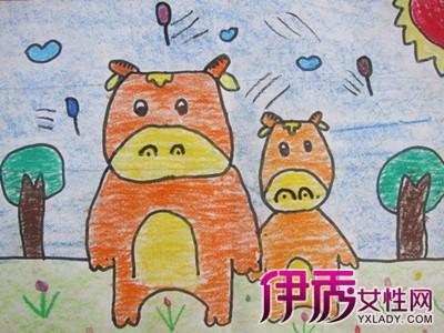 【图】幼儿园中班画画作品欣赏 让你了解画画对幼儿的好处