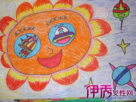 大班幼儿绘画作品展示