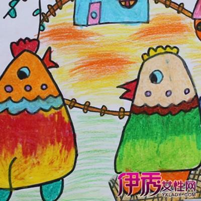 【图】欣赏小孩画画的简易图片 走进孩子的心灵世界