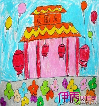 【图】庆国庆儿童简笔画 培养孩子爱国情怀