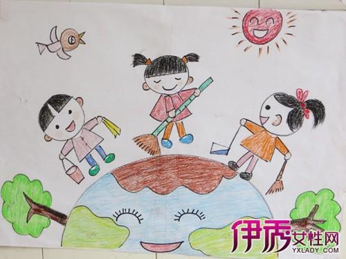 【图】幼儿美术作品图片大全 幼儿学绘画有多种好处图片