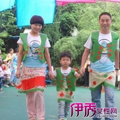 【图】男儿童环保服装制作图片展示 环保意识要从娃娃抓起-男儿童环