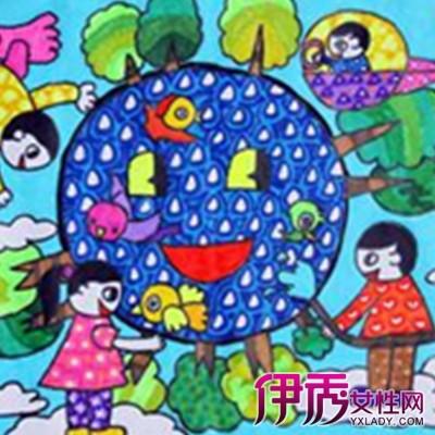 保护地球儿童画